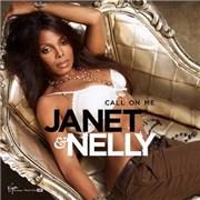 Janet Jackson Call On Me UK 2-CD single set
