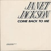Click here for more info about 'Janet Jackson - Come Back To Me'