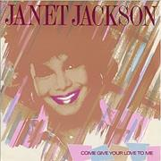 "Janet Jackson Come Give Your Love To Me UK 12"" vinyl"