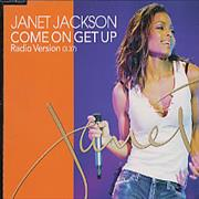 Janet Jackson Come On Get Up Japan CD single Promo