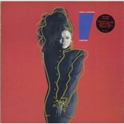 Janet Jackson Control - Double Stickered sleeve UK vinyl LP