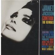 Janet Jackson Control - The Remixes UK CD album
