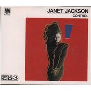 Janet Jackson Control Japan CD single