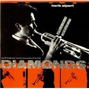 """Janet Jackson Diamonds - Herb Alpert UK 12"""" vinyl"""