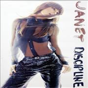 Janet Jackson Discipline UK poster Promo