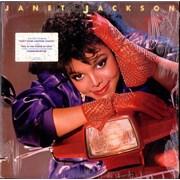 Janet Jackson Dream Street - Sealed USA vinyl LP Promo