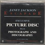 Click here for more info about 'Janet Jackson - Escapade - EX'
