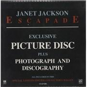 "Janet Jackson Escapade UK 7"" picture disc"