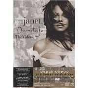 Janet Jackson From Janet To Damita Jo - The Videos Japan DVD Promo
