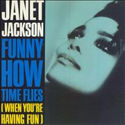 "Janet Jackson Funny How Time Flies UK 7"" vinyl"
