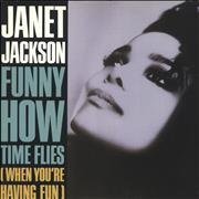 "Janet Jackson Funny How Time Flies UK 12"" vinyl"