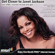 Click here for more info about 'Janet Jackson - Get Closer To Janet - no stub'