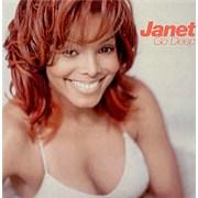 Janet Jackson Go Deep UK CD single Promo