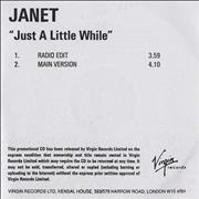 Click here for more info about 'Janet Jackson - Just A Little While'