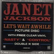 Click here for more info about 'Janet Jackson - Let's Wait Awhile - Double Pack'