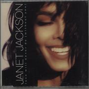 Janet Jackson Love Will Never Do (Without You) UK CD single