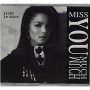 Janet Jackson Miss You Much - Mama Mix USA CD single Promo