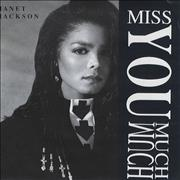 Click here for more info about 'Janet Jackson - Miss You Much - Poster Sleeve'