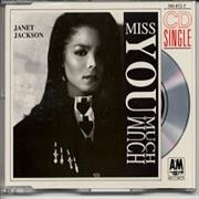"Janet Jackson Miss You Much Germany 3"" CD single"