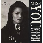 "Janet Jackson Miss You Much USA 12"" vinyl"