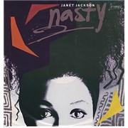 """Janet Jackson Nasty Australia 12"""" vinyl"""