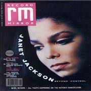 Click here for more info about 'Janet Jackson - Record Mirror'