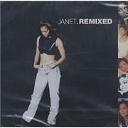 Janet Jackson Remixed Korea CD album
