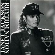 Janet Jackson Rhythm Nation Japan CD single Promo