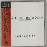 Janet Jackson State Of The World - The Remixes Japan CD album