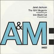 Click here for more info about 'Janet Jackson - The 1814 Megamix / Black Cat'