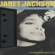 Janet Jackson The Pleasure Principle UK cassette single