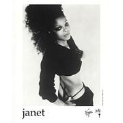 Janet Jackson The Velvet Rope USA press pack Promo