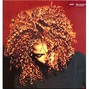 Janet Jackson The Velvet Rope UK 2-LP vinyl set