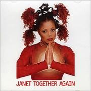 Janet Jackson Together Again USA CD single