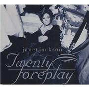 Janet Jackson Twenty Fourplay Germany CD single