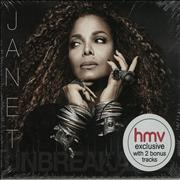 Janet Jackson Unbreakable - Sealed UK CD album