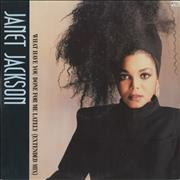 Click here for more info about 'Janet Jackson - What Have You Done For Me Lately - Janet Sleeve'