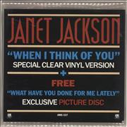 Click here for more info about 'Janet Jackson - When I Think Of You - Double Pack'