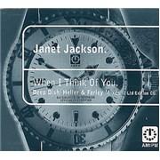 Janet Jackson When I Think Of You UK CD single
