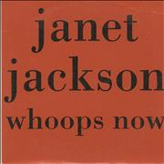 Janet Jackson Whoops Now France CD single Promo