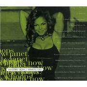 Janet Jackson Whoops Now Australia CD single