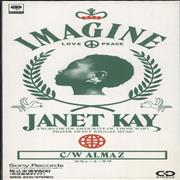 Click here for more info about 'Janet Kay - Imagine - Promo Stickered'