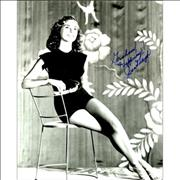 Click here for more info about 'Janet Leigh - Autographed Publicity Photograph'