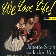 Click here for more info about 'Janette Scott & Jackie Rae - We Love Life!'