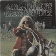 Janis Joplin Greatest Hits Netherlands vinyl LP
