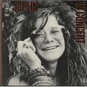 Click here for more info about 'Janis Joplin - In Concert - 1st - EX'