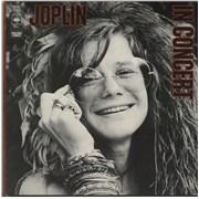 Janis Joplin In Concert - 1st - VG/EX UK 2-LP vinyl set