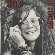 Click here for more info about 'Janis Joplin - In Concert - Sunburst Label'