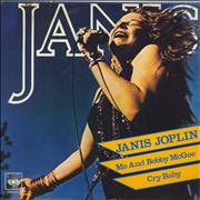 "Janis Joplin Me And Bobby McGee Italy 7"" vinyl"