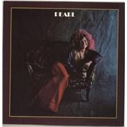 Janis Joplin Pearl UK vinyl LP